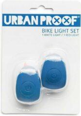 URBAN PROOF UrbanProof fietslampjes set siliconen Donker blauw