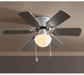Deckenlampe mit Ventilator GLOBO Chrom
