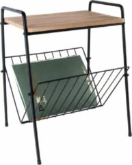 Zwarte Merkloos / Sans marque Side table w. rack small