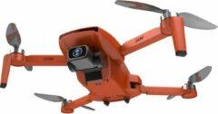 Trendtrading Turbine Pro Max drone - 75 minuten vliegtijd - Drone met 4K Full HD Dual Camera - 50x Zoom - 5G Wifi - Foto - Video - Quadcopter - Oranje