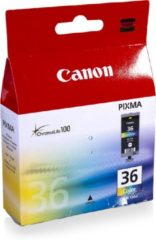 Cyane Canon CLI-36 - Inktcartridge / Cyaan / Magenta / Geel