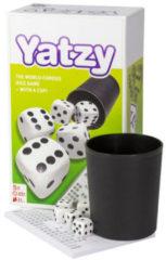 Selecta dobbelspel yatzy met beker karton 8-delig