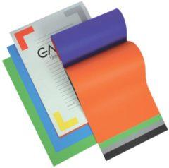 Gallery gekleurd tekenpapier Multicolor formaat 21 x 297 cm (A4) 120 g/m² blok van 20 vel
