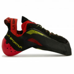 La Sportiva - Testarossa - Klimschoenen maat 35, zwart/rood