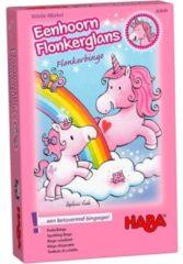 Roze Haba bingospel Eenhoorn Flonkerglans - Flonkerbingo (NL)