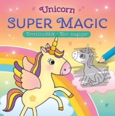 Deltas Unicorn Super Magic Toverkrasblok / Unicorn Super Magic Bloc Magique