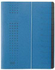 Witte Elba chic 400001992 Ordner Blauw DIN A4 Colorspankarton Aantal vakken: 12