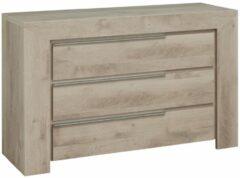 Gamillo Furniture Commode Sarlat 80 cm hoog in donker eiken