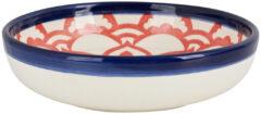 Xenos Schaal Marrakesh - blauw - ø18 cm