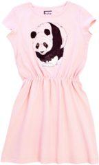 Roze HEBE A-lijn zomer jurk Kinderkleding Baby Jurk Maat 86