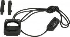 Zwarte VDO - Bevestigingsset Fietscomputer - Bedraad - Model M1,2,3,4
