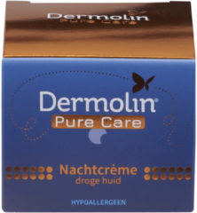 Dermolin Pure Care Nachtcreme Droge Huid (50ml)