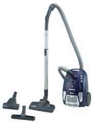 Dulkių siurblys Hoover BV71 BV30011 Brave vacuum cleaner with bag / EEK A / EPA dust bag including mini turbo nozzle for animal hair removal, 700 W, java blue / bright pilka