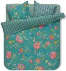 Groene Pip Studio Jambo Flower Dekbedovertrek - Lits-jumeaux (240x200/220 Cm + 2 Slopen) - Percal Katoen - Green
