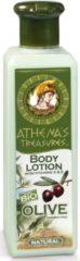 Pharmaid Natuurlijke verfrissende en hydraterende Body Lotion met Griekse bio Olive OIl, verrijkt met vitamine A, E, anti verouderings-ingrediënten en heerlijke aroma - Athenas Treasures 250ml