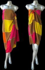 Rode Merkloos / Sans marque Batik Sarong Rayon, Beach Pareo, Hamamdoek, Wikkelrok, Wikkelrok, StrandLaken 115 * 180 cm