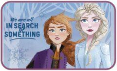 Disney vloerkleed fleece Frozen 2 75 x 45 cm multicolor