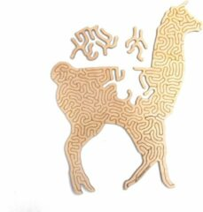 Kaboomlaser Alpaca   Houten Puzzel   Entropy serie   49 stukjes